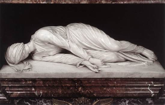 The Sculpture of St. Cecilia by Stefano Maderno