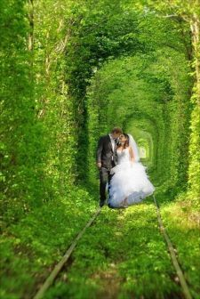 WeddingCoupleTunnel