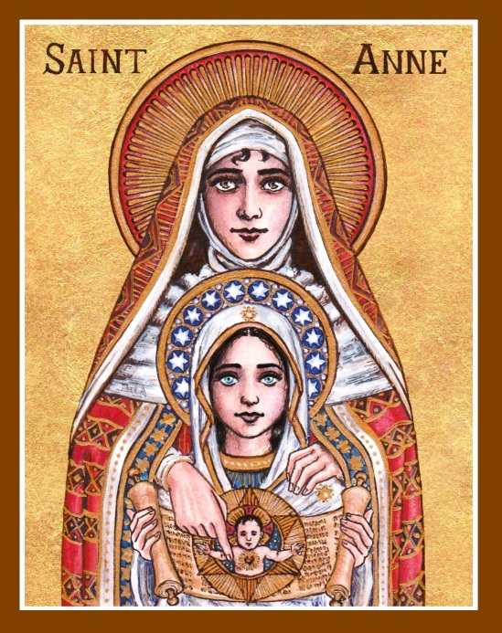 St. Anne with Mary and Jesus