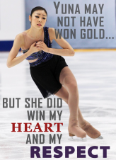 [In honor of Yuna's Silver Medal at the 2014 Sochi Olympics! Pray on - pray on, Miss Kim!]