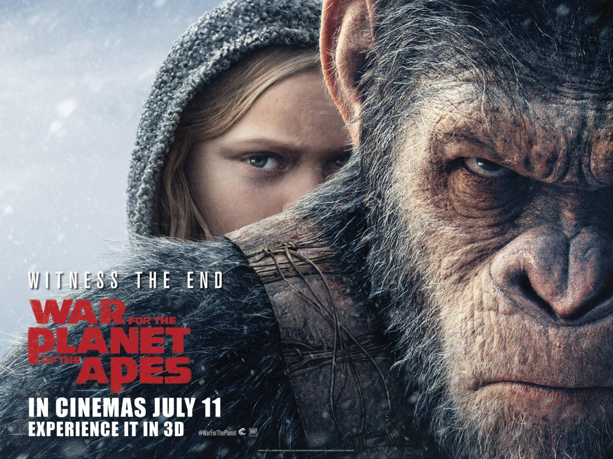 The Worthy War for the Planet of the Apes